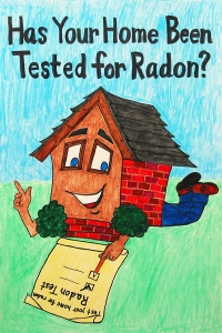 2012 National Radon Poster Contest Winner: Second Place - Hayden, Age 11 of Athens, GA